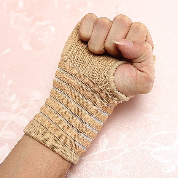 New Professional 1 Pcs Sport Hand Support Wrist carpal Tunnel tennis Sleeve Splint Brace Wrap Gym Wrist sleeve supports Bandage