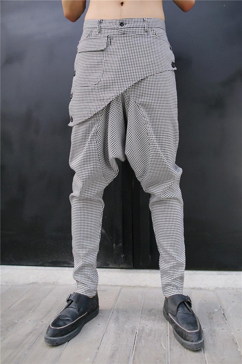 Occasionnels Hiphop Pantalon Des De 27 Harem Blanc intégration Non Confortable Automne Danse Hommes Mince 44 0xw5YnqC