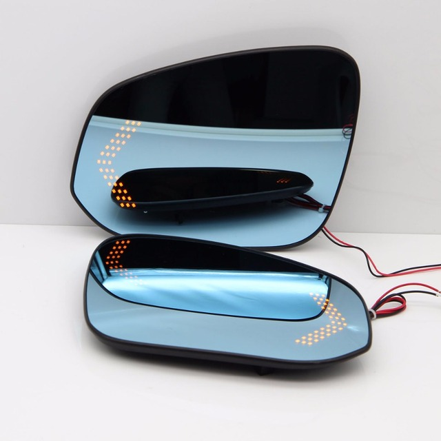 Blue wing mirror glass with base heated car angle wide glare proof blue wing mirror glass with base heated car angle wide glare proof mirror led turn planetlyrics Image collections