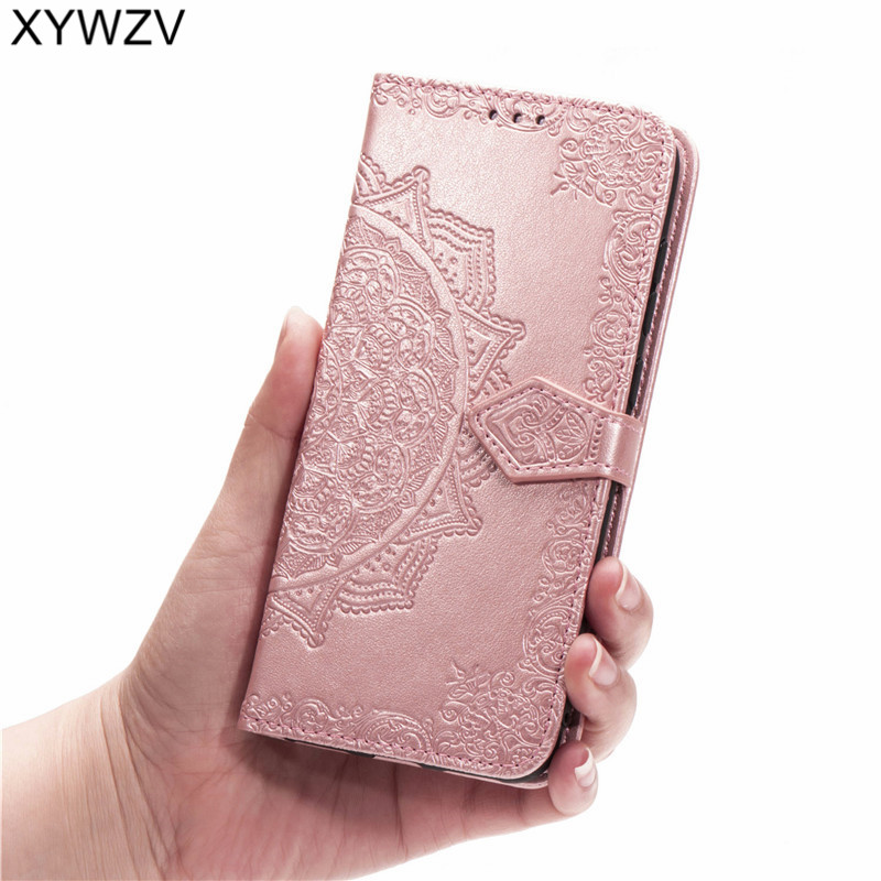 Image 5 - For LG Q60 Case Shockproof Cover Luxury Flip Wallet Soft Silicone Phone Case Card Holder Fundas For LG Q60 Back Cover For LG Q60-in Flip Cases from Cellphones & Telecommunications