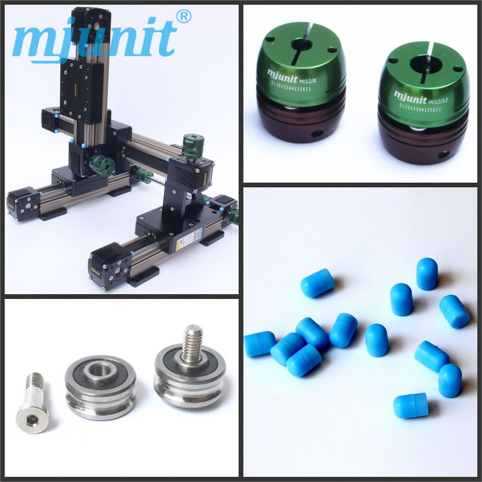 mjunit Micro-synchronous belt guide Linear rail module feeder brand new smt yamaha feeder ft 8 2mm feeder used in pick and place machine
