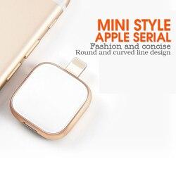 Süpersonik Metal n cam usb flash sürücü iPhone 6/6 s/6 artı/6 s/6 Plus/7/7 artı/ 8/X Macbook Otg/yıldırım 2 in 1 kalem sürücü Android PC için
