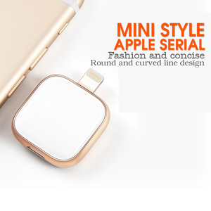 Image 1 - Supersonic Metal n Glass USB Flash Drive For iPhone 6/6s/6Plus/7/7Plus/8/X Macbook Otg/Lightning 2 in 1 Pen Drive For Android PC