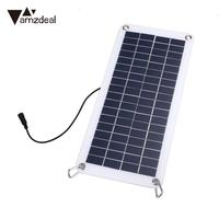 18V 10 5W Flexible Solar Panel Battery Charger Board For Phone Car Motorcycle
