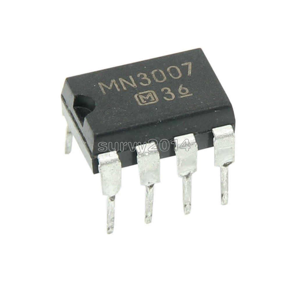 1 قطع MN3007 mn 3007 dip dip8 تأخير تأثيرات الغيتار الدواسة رقائق ic