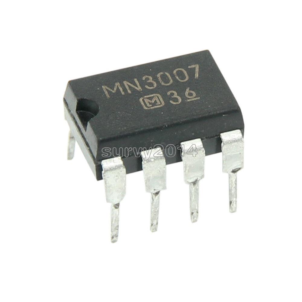 1PCS MN3007 MN 3007 DIP-8 DIP8 GUITAR DELAY EFFECTS PEDAL CHIPS IC stc15f104e 35i dip 15f104 dip8