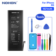 NOHON High Quality 1821mAh Battery Lithium Phone Replacement Bateria For iPhone 8 8G iPhone8 Batteries Free Tools
