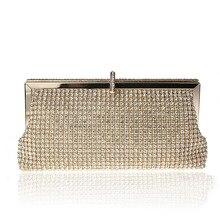 2017 New Full Women Rhinestone Evening Clutch Bag Shinny Quality Rhinestone Women Wedding Handbag Wallet Evening Party Bag