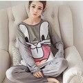 Conejo Pijama Pijama Femme Entero Mujer Pyama Mujer Pijamas De Bichos Animal Pijamas Para Las Mujeres Ropa de Dormir