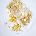 1000piece lot gold color 4mm 6mm 8mm 10mm 12mm glue flat pad stud earring post with stopper blacks findings EAP004