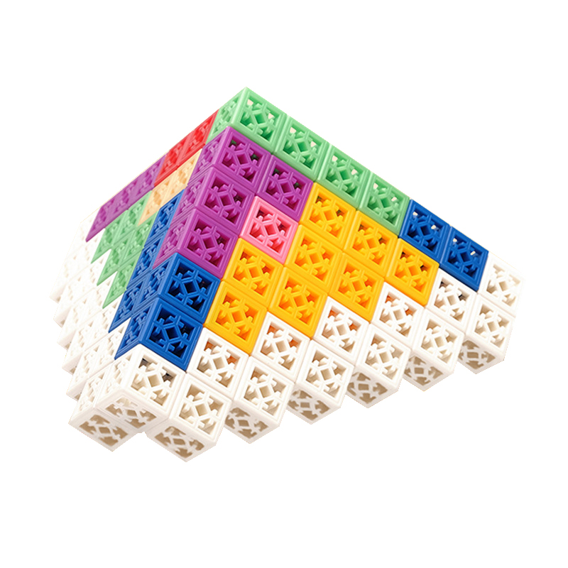 91Pcs Colorful Kids Tangram Toys Big Particles Bricks Building Blocks Toys Education Jigsaw Inserted Children Creative Toys Gift ...