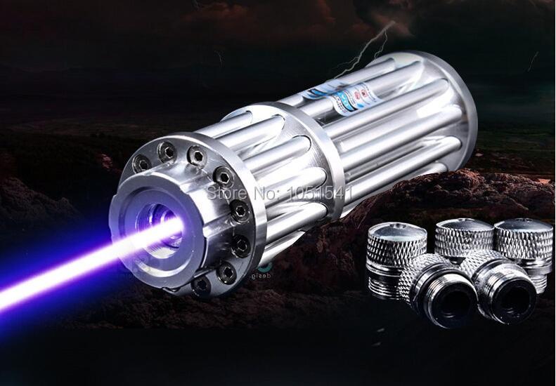 New High Power Blue Laser Pointers 100000mw 100w 450nm Flashlight
