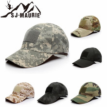 SJ-Maurie Outdoor Sport Tactical Military Army Cap Camo Hunting Hat Men  Adult Fishing Camping 31cc1b800a89