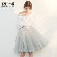 Girls tutu skirt summer extra fluffy princess soft tulle lovely Solid party dance ballet pettiskirt for Women Femme