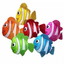 Mini  New 38*60cm Tropical Fish Foldable Eco Reusable Shopping Bags Random Color