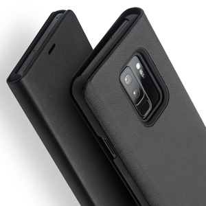 Image 5 - Qialino本革フリップケース三星銀河s9ファッション高級極薄ステント電話カバー三星s9 +プラス6.2インチ