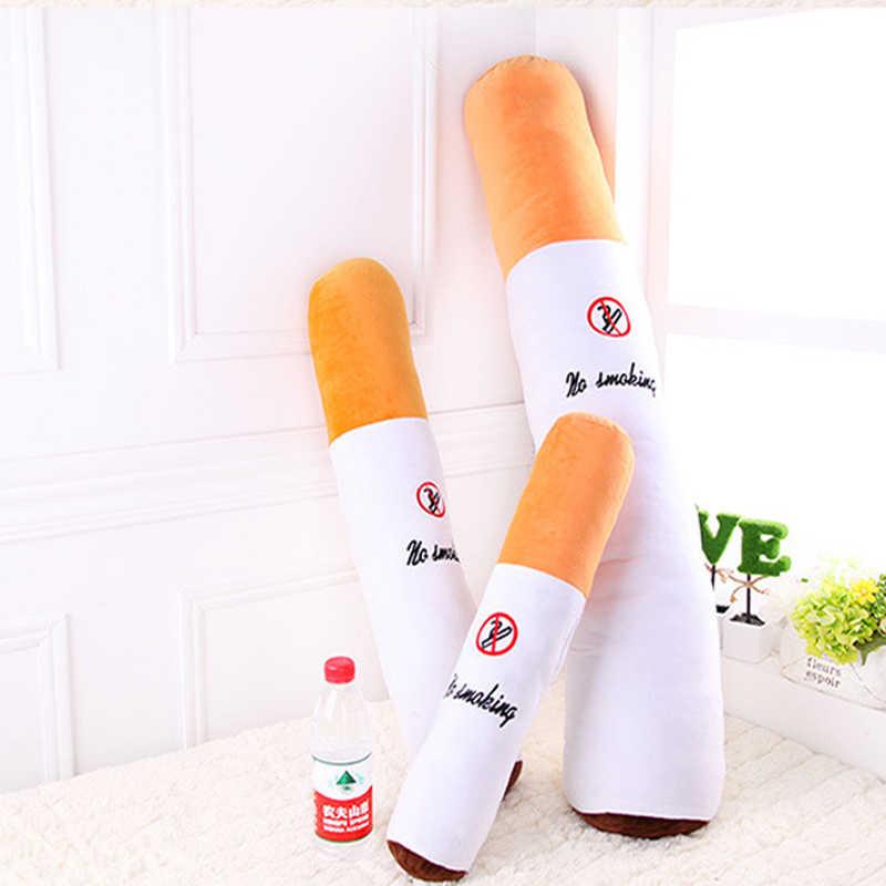 1 adet 50cm sigara silindirik uyku sigara yastık erkek arkadaşı doğum günü hediyesi peluş oyuncaklar, ücretsiz kargo