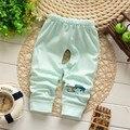 Frete grátis Outono Nova Algodão calças do bebê, calças infantis, recém-nascidos leggings pants # Z697