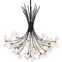 라이트 펜던트 교수형 유럽 크리스탈 홈 데코 techo moderna lampara colgante lustre e pendente para sala de jantar 교수형 램프