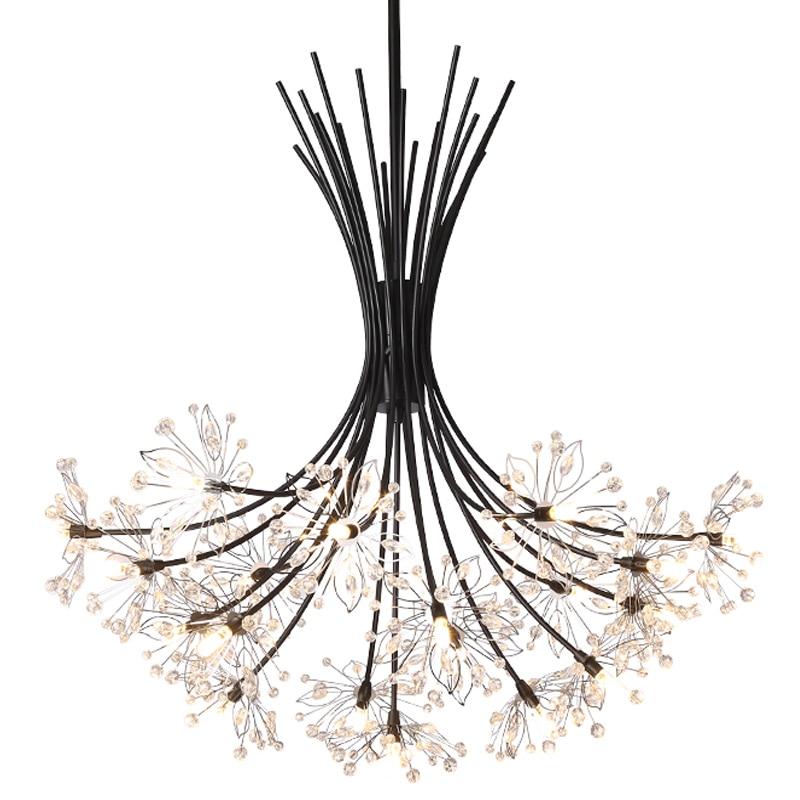 Luz de Cristal Moderna Casa Deco Techo Lampara Colgante Pingente Pendurar Europeu Lustre E Pendente Para Sala De Jantar Lâmpada Pendurada