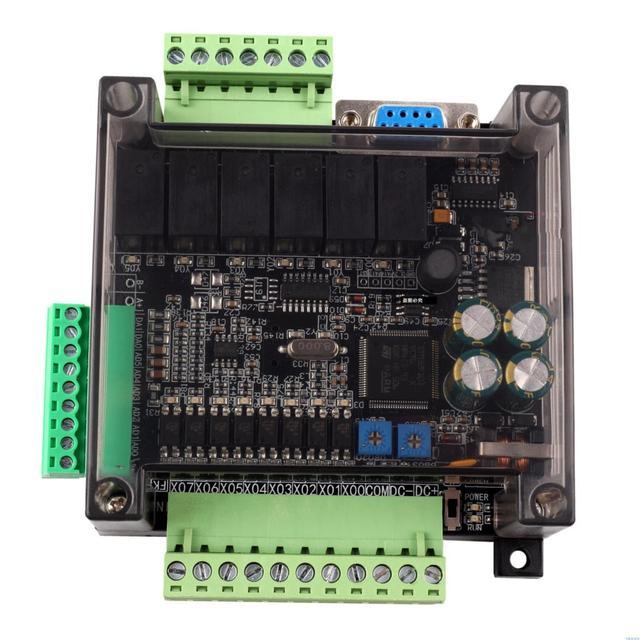 FX1N FX2N FX3U 14MR 14MT 6AD 2DA PLC RS232 RS485 Modbus RTU 24VDC RTC สำหรับ MITSUBISHI PLC