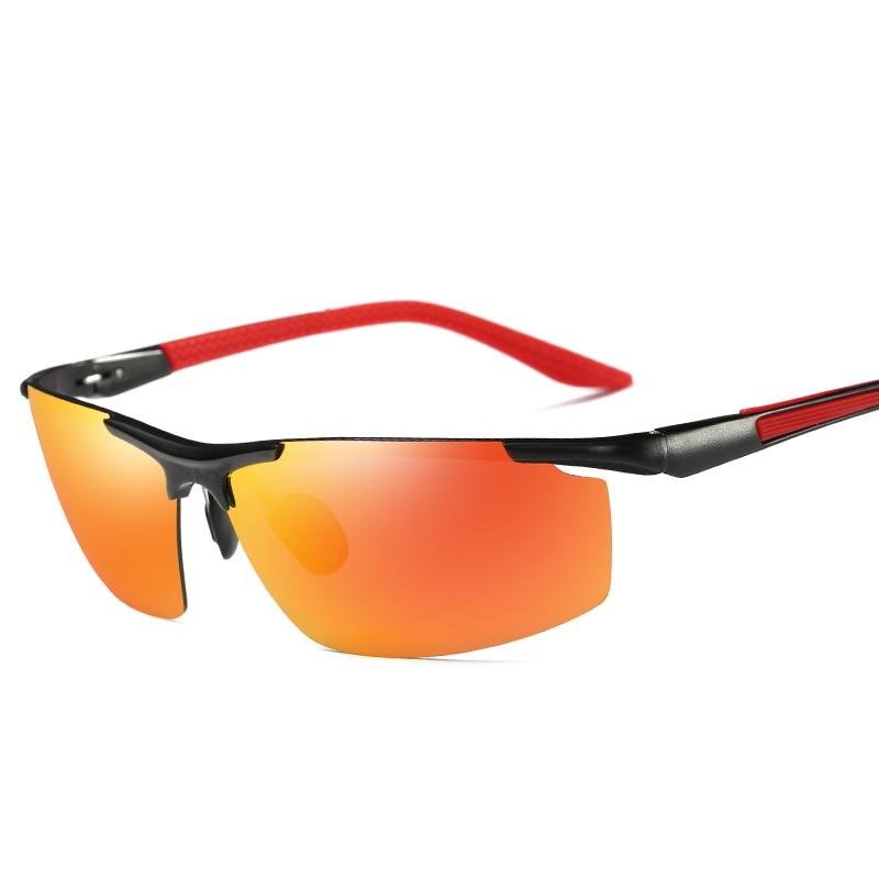 Steampunk Goggles Men Carter Polarized Sunglasses Brand Male Rimless Sun Glasses Driver Fishing Night Vision Eyeglasses