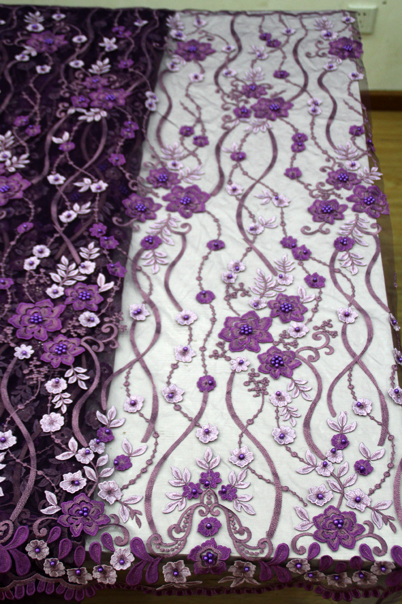 2018 High Quality African Lace Fabric 3D Flowers With Beaded Tulle Lace Fabric New Design Nigerian Tulle Lace Fabric2018 High Quality African Lace Fabric 3D Flowers With Beaded Tulle Lace Fabric New Design Nigerian Tulle Lace Fabric