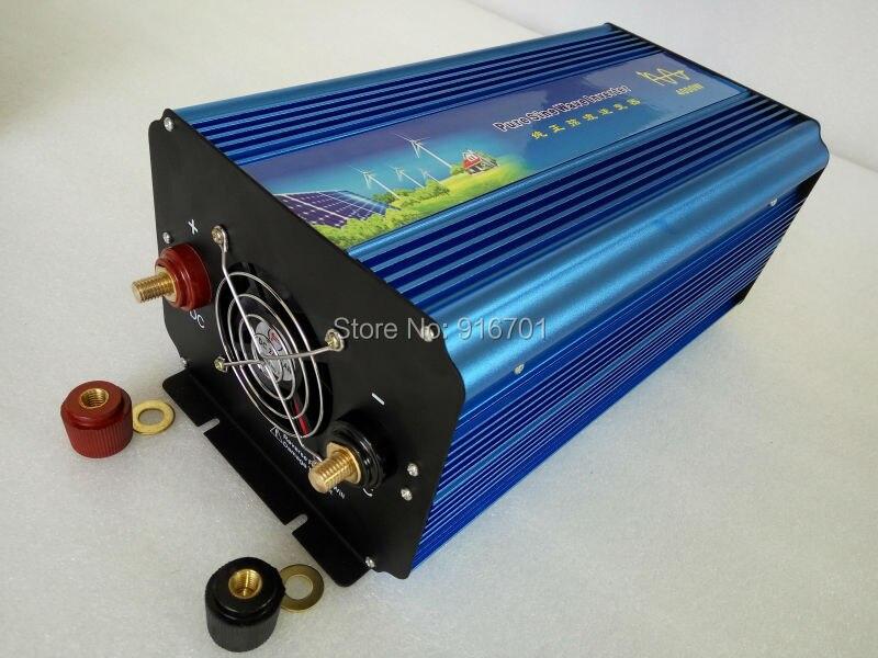 DHL Fedex door to door free shipping 4000W Pure Sine Wave Inverter 4000W senoidal pura inversor de la onda