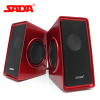 SADA V 151 Mini Subwoofer Strong Stereo Bass 5W USB Speaker Surround HIFI PC Speakers for Computer Notebook Laptop Smart Phone