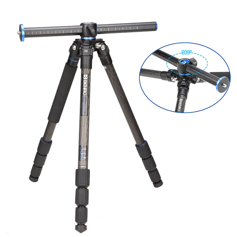 Benro GC158T Tripods Carbon fiber Camera Tripod Monopod For Camera 4 Section Carrying Bag Max Loading 10kg DHL Free Shipping