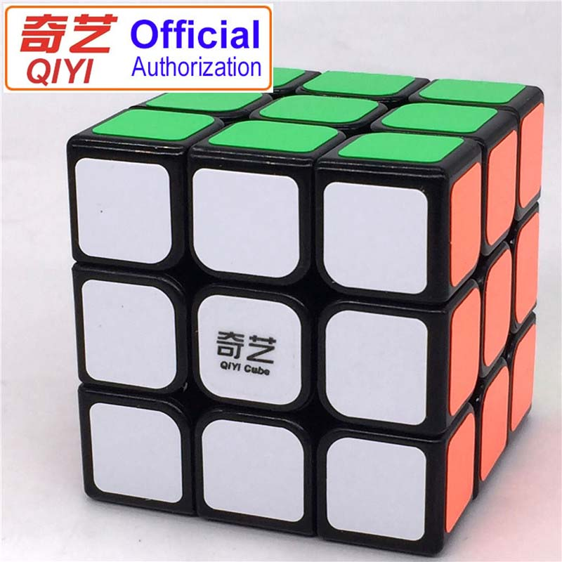 Official Authorization QIYI Magic Cubes 3x3x3 5.6CM Sticker Speed Twist Puzzle Toys For Children Gift Magic Cube MF306