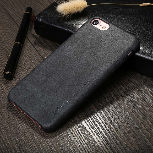 Vintage PU Leather Case for Apple iPhone 7/ 7 Plus