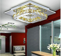 LED Crystal Flush Mount New arrival LED 12W Crystal Chandelier large in stock for aisle/ hallway/living room lamps
