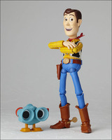 BJD Cartoon Toy Story 3 Woody SCI FI Revoltech Sculpted by matsumoto EIIchirou Model Baby toy Joint can move GH835