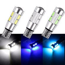 2x t10 светодиодный лампы w5w светодиодный лампы огни автомобиля подкладке супер яркий 4 W 5 светодиодный 5630 SMD 194 168 12 V 6000 K Ice Blue оранжевый Включите сигнал