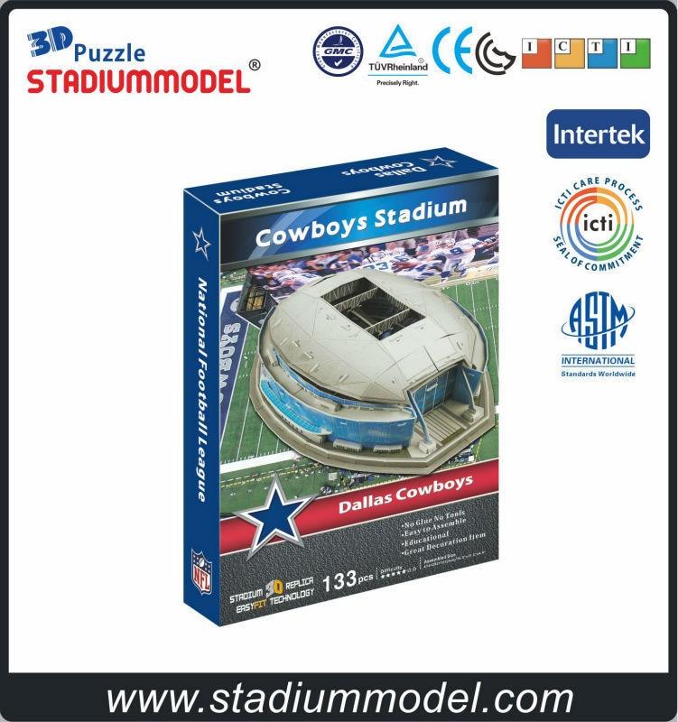 Nacionalna nogometna liga Dallas-Cow dječaci Dom Texas Texas 3D 3D - Igre i zagonetke - Foto 3
