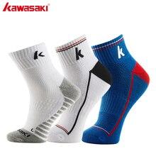 Оригинальные спортивные носки Kawasaki для бега, велоспорта, баскетбола, фитнеса, дышащие мужские носки из хлопка, предотвращают запах ног