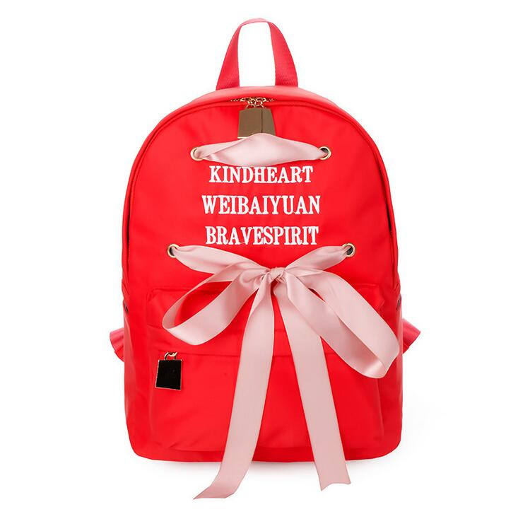 Fashion Women Backpack Big Embroidered cute Backpack Women nylon Backpacks  High Quality Girls School Bags-in Backpacks from Luggage   Bags on  Aliexpress.com ... caadee7017