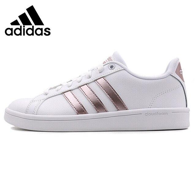 superior quality b608a 40d9d Originale Nuovo Arrivo 2018 Adidas NEO Etichetta CF VANTAGGIO delle Donne  Skateboarding Shoes Sneakers