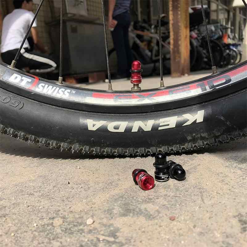 2 adet bisiklet lastiği vana kapakları alüminyum alaşım evrensel bisiklet ağızlı kapaklar dağ bisikleti aksesuarları bisiklet vana kapakları kırmızı siyah