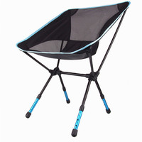 High Quality Aluminium Alloy Mesh Portable Chair For Fishing Camping Outdoor Sports Ultralight Barbecue Folding Chairs