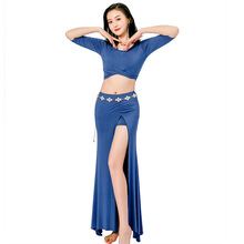 Practice Costume Bellydance Women Clothes 10 Color Modal Dancing Wear 2 Pieces For Belly Oriental