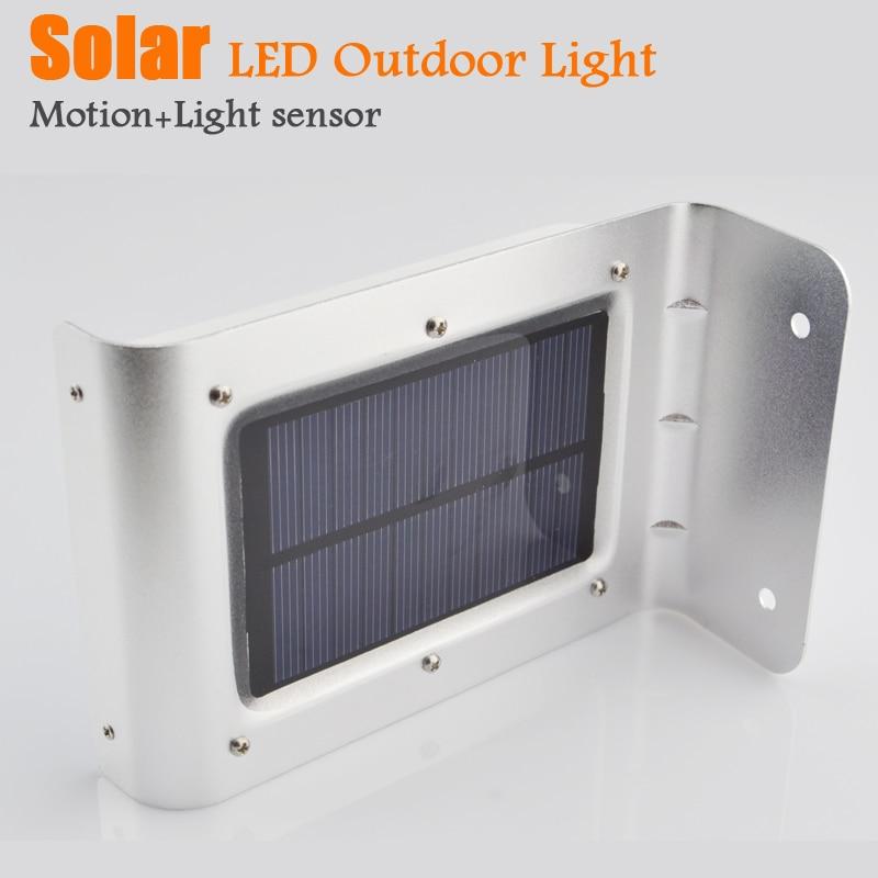 Solar lamps garden light motion sensor outdoor street wall - Lamparas solares de led ...