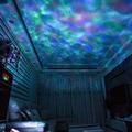 Новинка  светодиодный прожектор с морской волной  ночник  светильник со звуком  настольная лампа  романтический подарок на день рождения  ок...