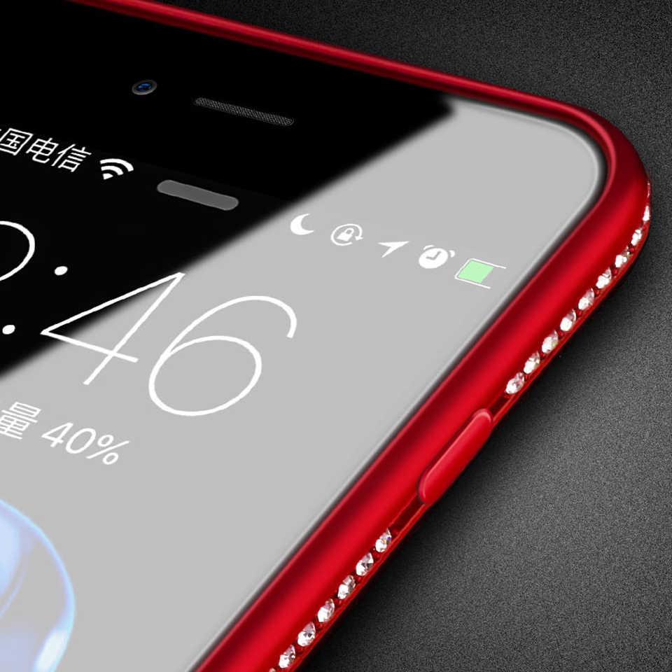 Diamond Case For Huawei Mate 9 Pro Cover Glitter Bumper Wedding Dress Case TPU P20 Lite Honor 20 10 8 Lite 8X 7X 6X 5X MAX 8C 7C
