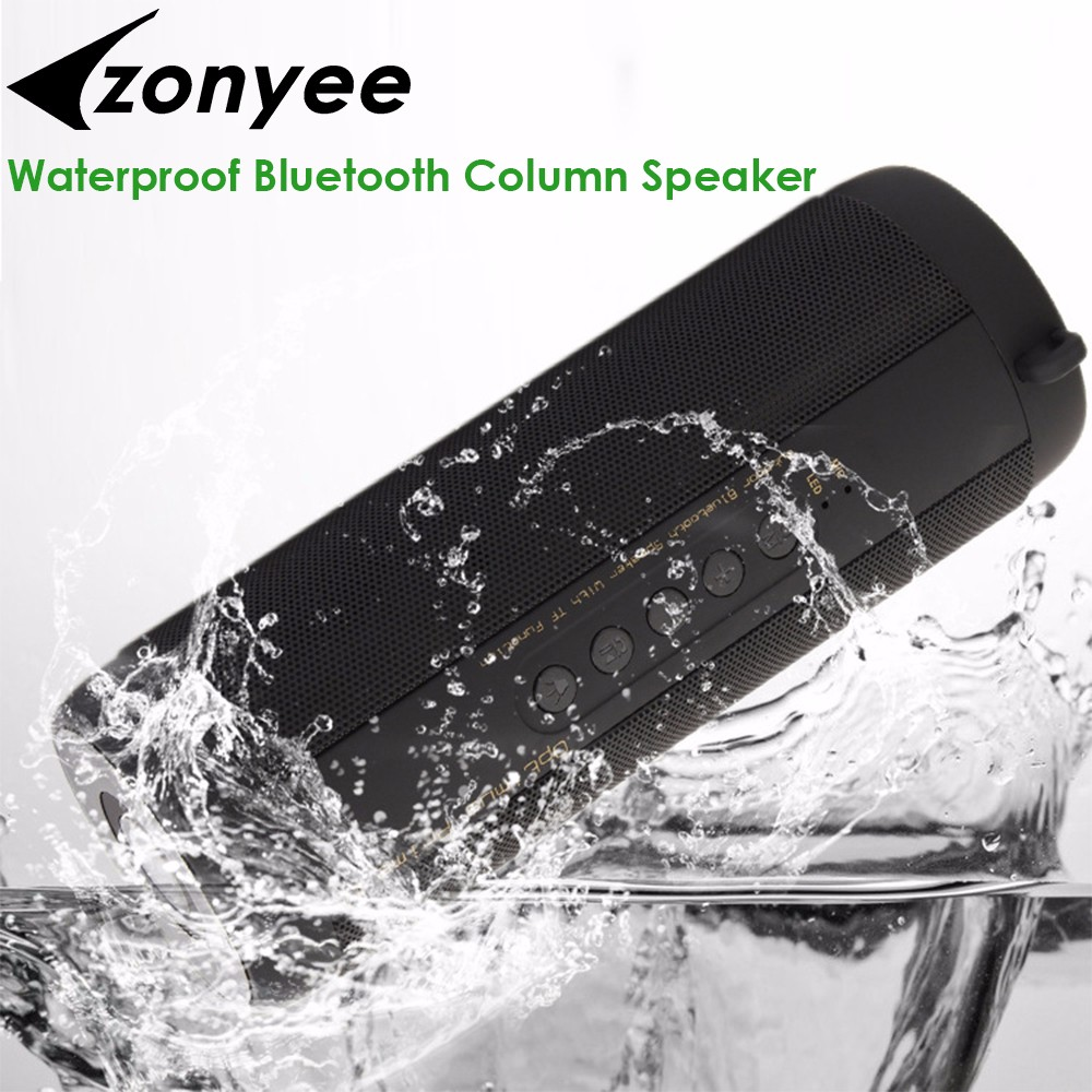 Zonyee Bluetooth Lautsprecher Big Power Tragbare drahtlose altavoz Bluetooth Lautsprecher Verstärker Stereo Outdoor wasserdicht HIFI Lautsprecher
