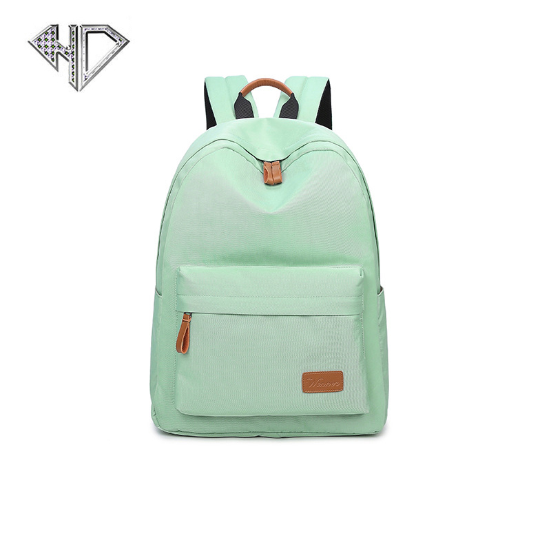 Women Backpacks For Teenage Girls School Bag Polyester High Quality Backpack Women 3 Color Large Capacity Bag Travel  D jmd backpacks for teenage girls women leather with headphone jack backpack school bag casual large capacity vintage laptop bag
