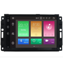 цена на Android9.0 8core 1024*600 Head Unit GPS Navi Radio Stereo Car DVD Player for JEEP Patriot Compass DODGE Journey Chrysler Sebring