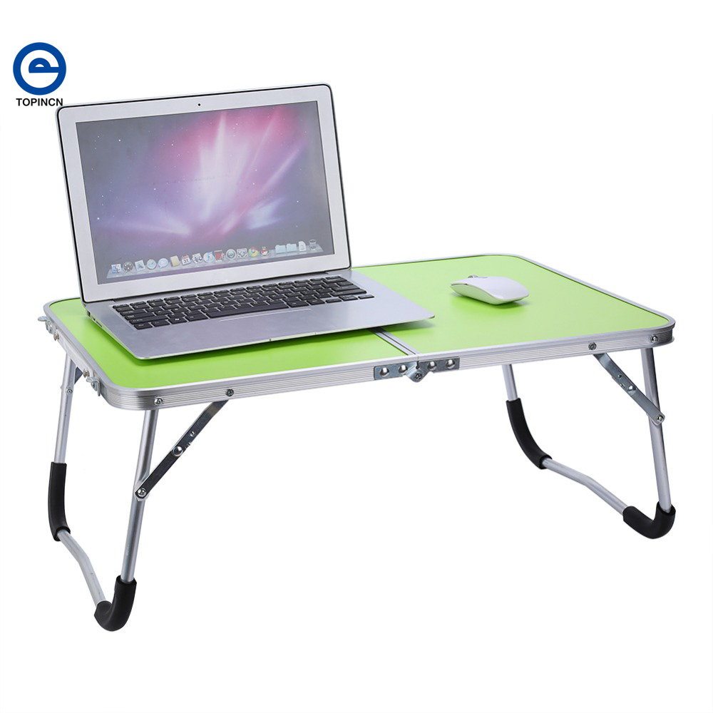 Laptop bed table tray - 1pc Portable Picnic Camping Folding Table Laptop Desk Stand Pc Notebook Bed Tray New China