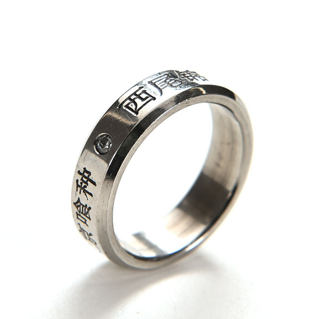 Anime Tokyo Ghoul Themed Titanium Steel Ring